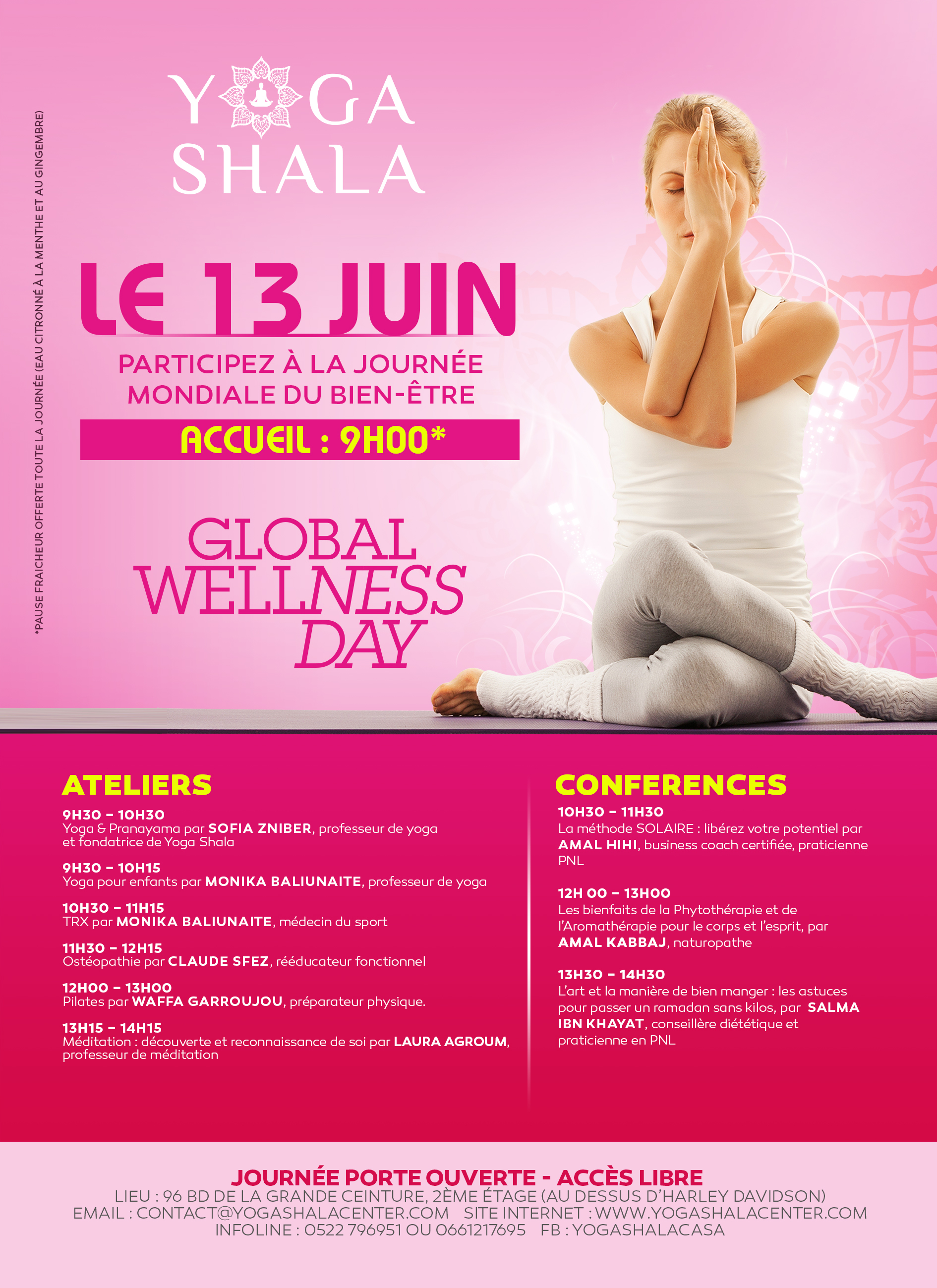 Global Wellness Day – Journée Mondiale du Bien-Etre